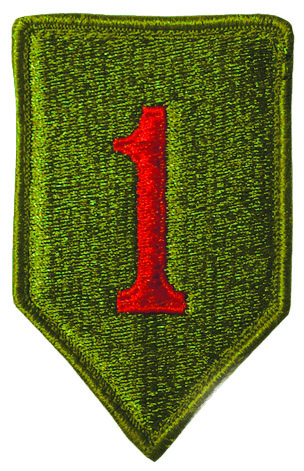 Big Red One patch