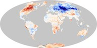 Land Surface Temperature Anomaly