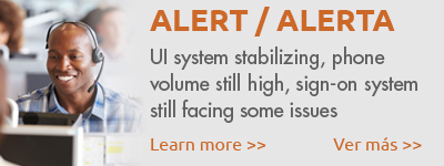 ALERT: UI system stabilizing, phone volume still high, sign-on system still facing some issues.  Learn more.