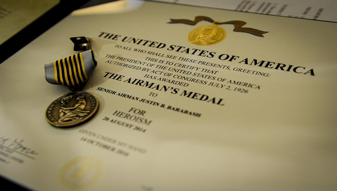 Air Commando awarded Airman's Medal