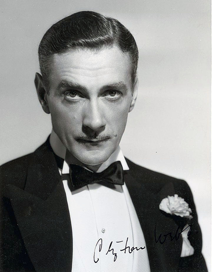 Clifton Webb, 1930s, during his brief time at MGM