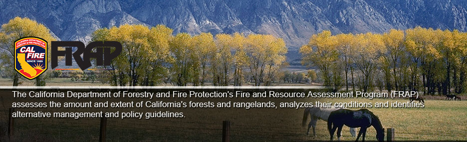 Fire and Resource Assessment Program (FRAP)
