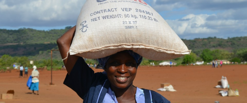 Helping over 2 million rural Zimbabweans during the drought.