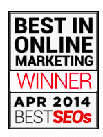 Best SEO Company Award Winner 2014