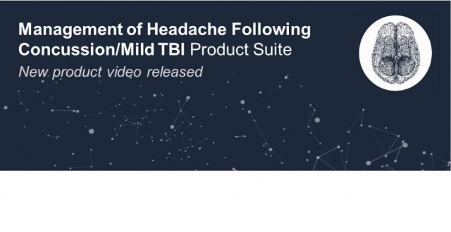 Management of Headache Following Concussion Product Suite Video