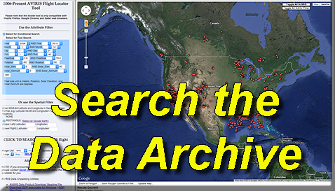 Button labeled 'Search Data Archive'