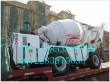 self-loading concrete mixer truck