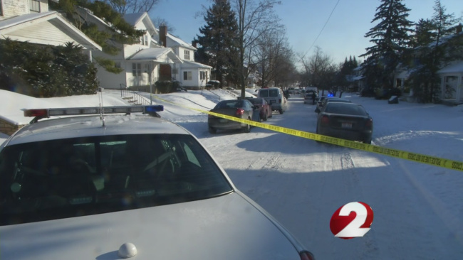 Fatal dog mauling on East Bruce Avenue in Dayton. (WDTN Photo)