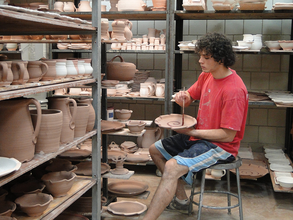 pottery business