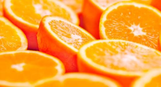 Naranjas seleccionadas