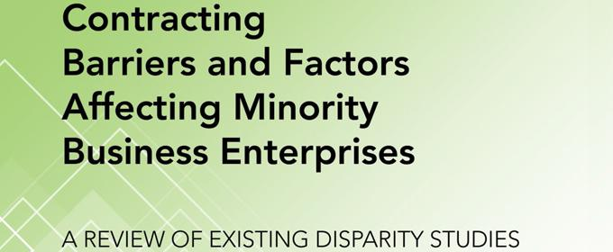 Contracting Barriers and Factors Affecting Minority Business Enterprises A Revie