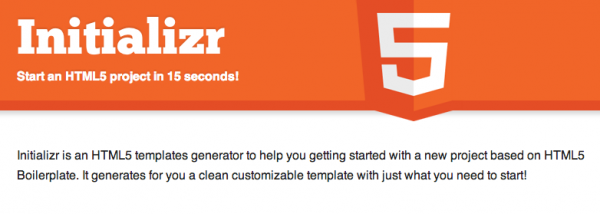 responsive bootstrap solution from initializr