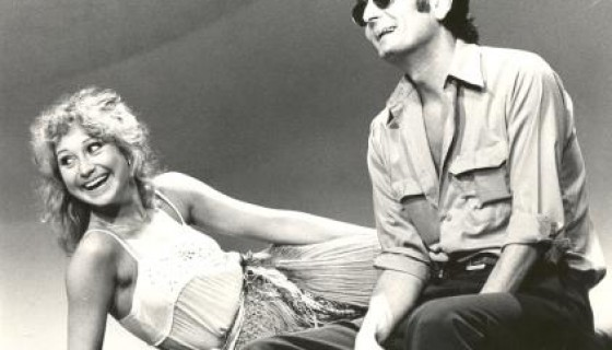 Felicity Kendal and Paul Chapman in Clouds (Hampstead Theatre/Duke of York's Theatre, 1976)