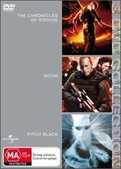Chronicles Of Riddick / Doom / Pitch Black - 3 DVD Collection (3 Disc Set)