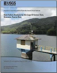 cover image: Dam failure analysis for the Lago El Guineo Dam, Orocovis, Puerto Rico