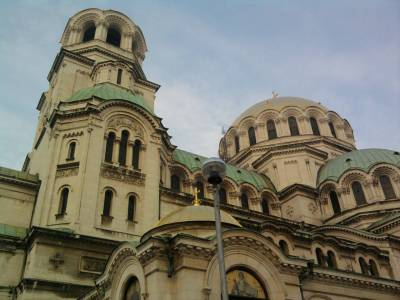 Nevsky Cathedral in Sofia Bulgaria