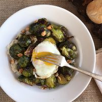 Roasted Brussels Sprouts with Peanuts and Fish Sauce