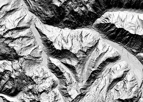 DNR's new online lidar database allows users the best available way to identify geologic threats