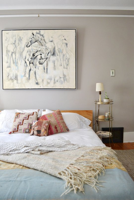 Decorate the Wall above the Headboard