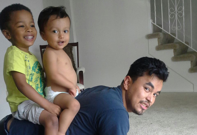 Papá and his boys