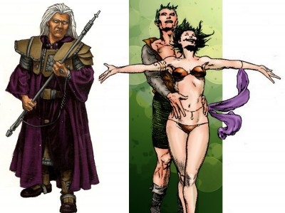Near-humans encompassed a wide variety of species, from Arkanians to Zelosians.