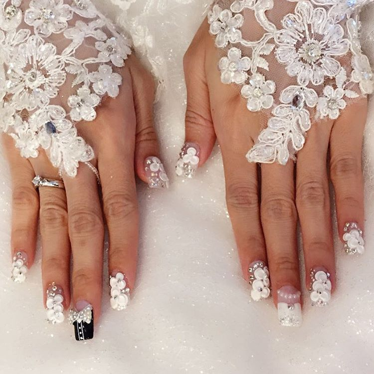 Pictures of wedding nails