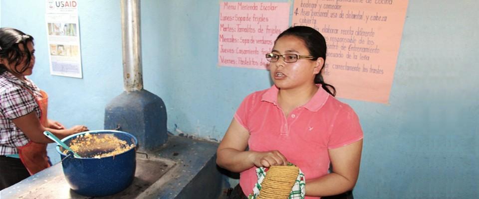 Tortilla Maker in Honduras