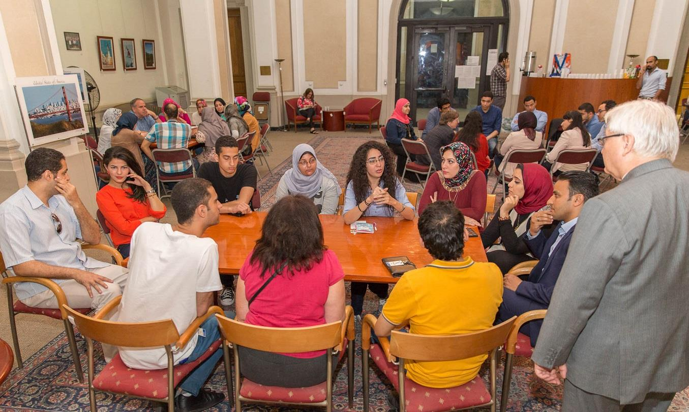 English Conversation Club hosted by U.S. Consulate Alexandria