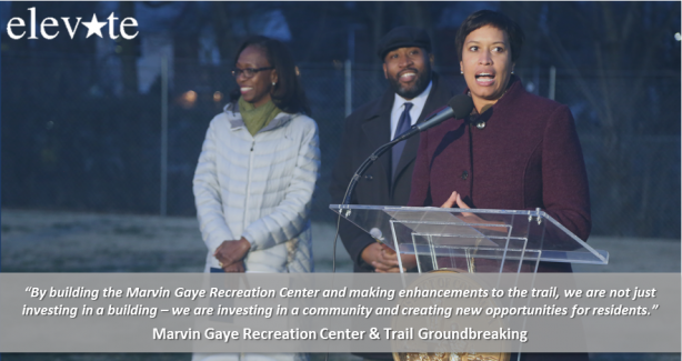 Marvin Gaye Recreation Center & Trail Project