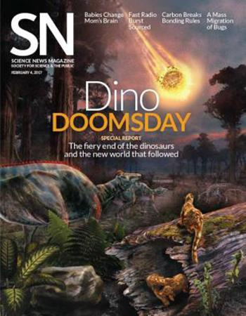 Science News cover - February 4, 2017