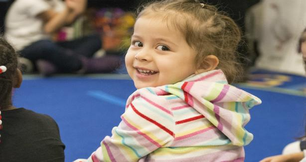 Photo of a smiling child