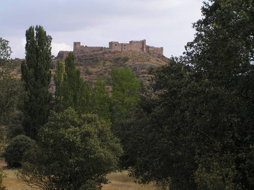 Riba castle from the west