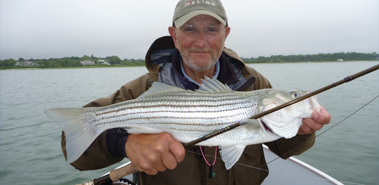 Captain Brings Fishermen to Striped Bass and More