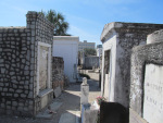 Saint Louis Cemetery Number One in New Orleans. Photo by Michael Kleen