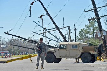 National Guard assist New Orleans police after tornado cuts through neighborhoods