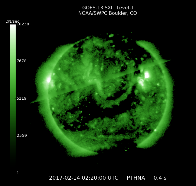 Solar X-Ray Imager Image