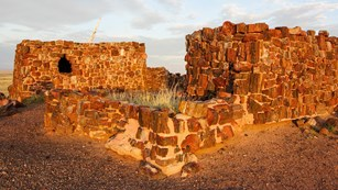 Ruins of an ancestral Pueblo house