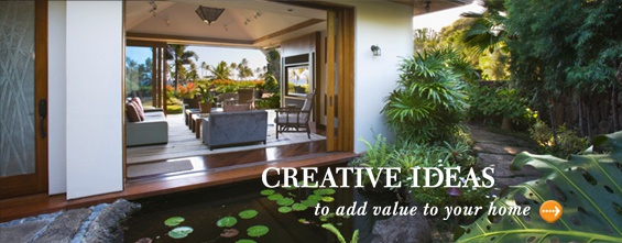 Creative Ideas to add value to your home