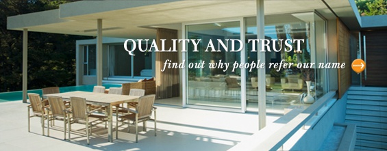 Quality and Trust - find our why people refer our name