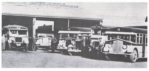 Kingston Depot about 1934.