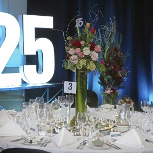 William Cole Funerals - Celebrates 25 Gala Dinner
