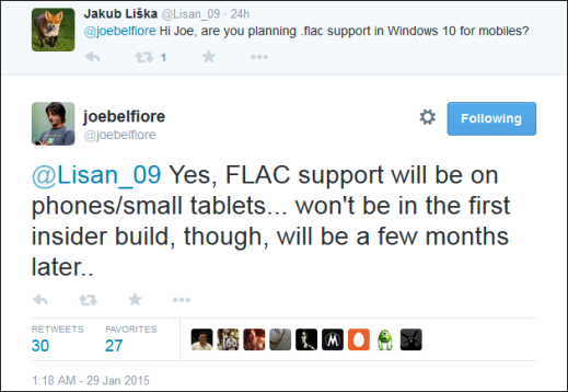 FLAC coming to Windows Phone