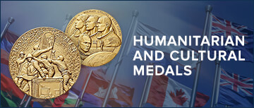 Humanitarian and Cultural Medals
