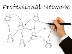 Create a professional network