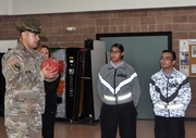Nevada Guard's lone drill Sgt. is mentor, motivator for new Soldiers