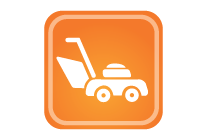 Lawn mowing / garden care services