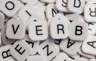 Close up of a batch of letter tiles