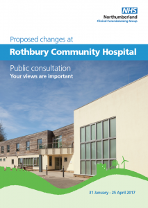Rothbury Hospital consultation doc cover