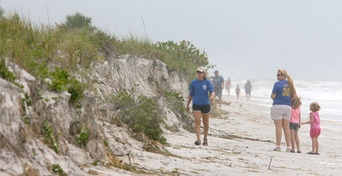 Hurricane Impacts on Pinellas Beaches