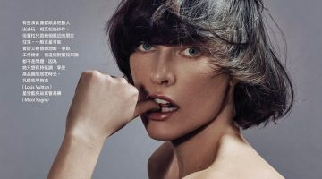 Milla Jovovich Tries on Statement-Making Styles for Vogue Taiwan